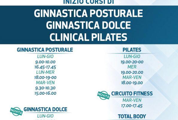 Rosi Salus - Corsi di ginnastica posturale, ginnastica dolce, clinical pilates
